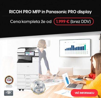 RICOH PRO MFP in Panasonic PRO Display